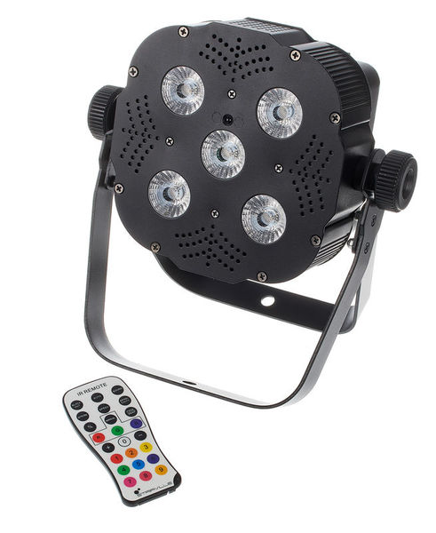 Projecteur LED carré 5x8 Watts RGBW